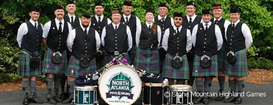 Hostband North Atlanta Pipes & Drums